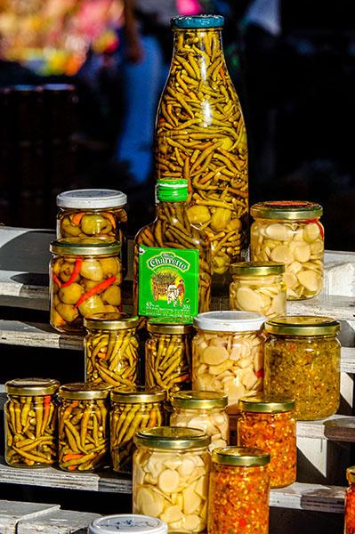 Pots de piments